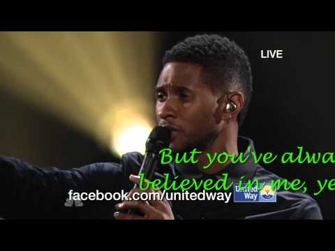 Blake Shelton ft. Usher - LYRICS - Home - Healing in the Heartland - LIVE