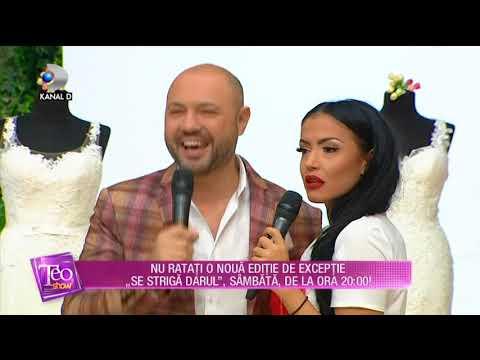 extrem de elegant calitate excelentă cost scăzut Teo Show (21.09.2017) - Andreea Mantea stie ce rochie de mireasa i ...