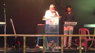 "Rev.D.Lazarus, AP Nazarene ""Yeshu hai sacha gadariya"" (Hindi) 17.10.15 NYI"