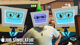 КУПЛИНОВ УСТРОИЛСЯ НА РАБОТУ ► Job Simulator #1