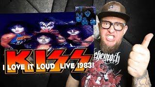 """Baixar KISS  """"I Love It Loud"""" LIVE 1983 with VINNIE VINCENT"""