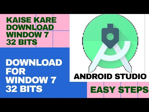 How To Download And Install Android Studio For Window 7 32 Bits.