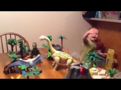 Playmobil dinosaurs!