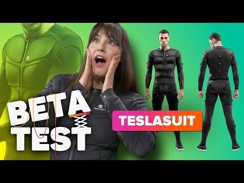 The Teslasuit literally shocked me | Beta Test