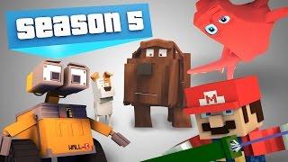 MMP Season 5 Compilation! - (Minecraft Animation)