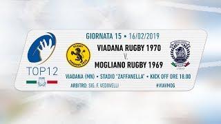 TOP12 2018/19, Giornata 15 - Viadana Rugby 1970  v Mogliano Rugby 1969