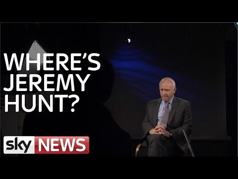 Where Is Jeremy Hunt?
