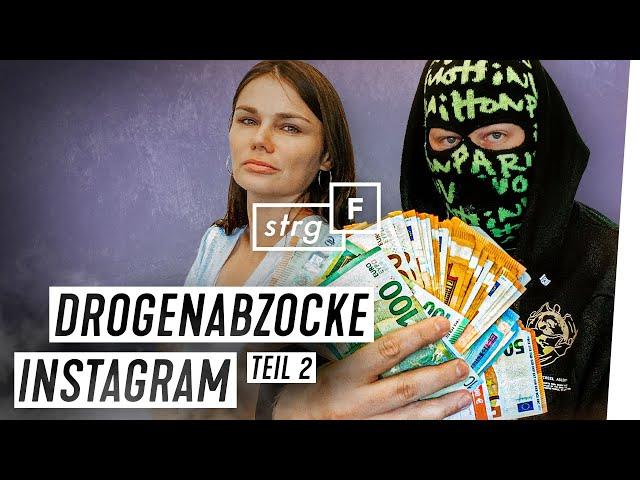 Instagram: Abzocke mit Fake-Drogen | STRG_F