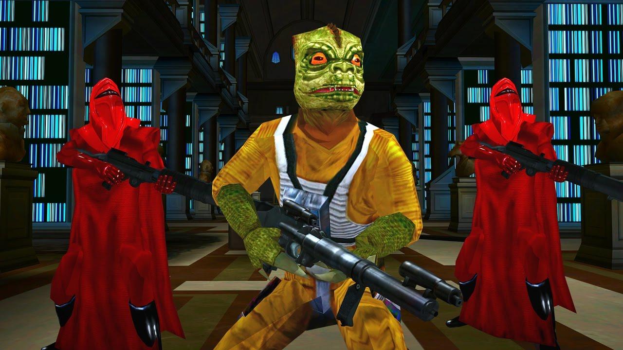 Star Wars Battlefront 2 Mods GCW 1035 Coruscant Bossk