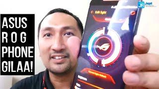 Hands-on Preview ASUS ROG Phone: Smartphone Gaming Canggih, Lengkap dengan Aksesorisnya - Indonesia