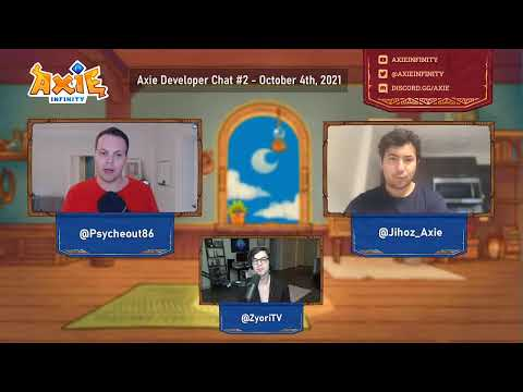 Axie Developer Chat - October