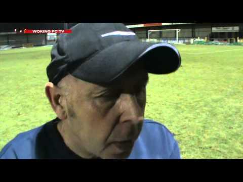 Graham Baker Interview after Havant & Waterlooville 1-1 Woking