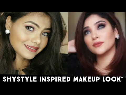 shy-style-(saima)-inspired-makeup-look//-#7day7youtuberlook-series-//-letsglamup-by-nish-//-7-day