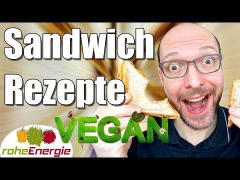 4 SANDWICH REZEPTE für den Sandwichmaker in Vegan