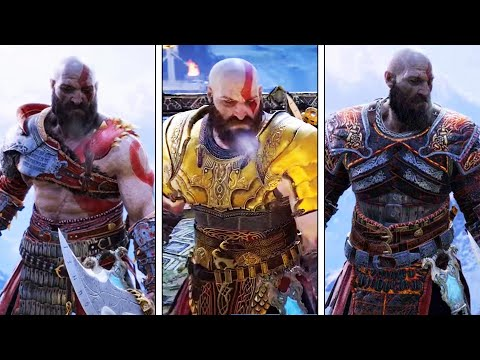 God of War (PS4) Legendary Armor & Weapons Showcase