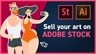 You want to make money online from selling stock illustrations? passive income for designers, adobe stock. i have done extensive research give a lot o...
