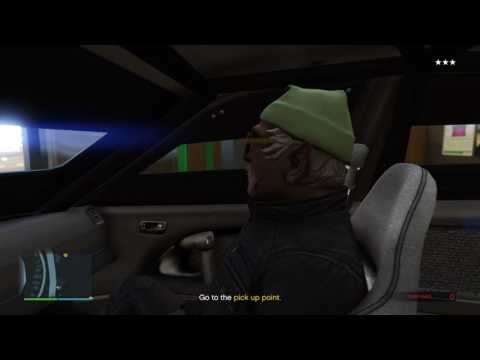 GTA Online - The Fleeca Job - Elite Challenge - First Person R* Time (5:00)