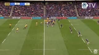 Scotland play Australia