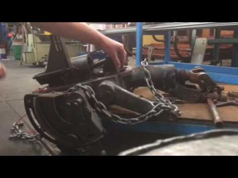 Massey Ferguson 35 Hydraulics stuck and won't go down