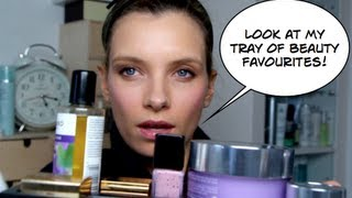early march beauty favourites with the new clinique compact foundation   a model recommends