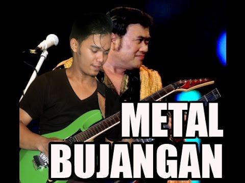 BUJANGAN (bang H. Rhoma Irama) cover guitar METAL VERSION