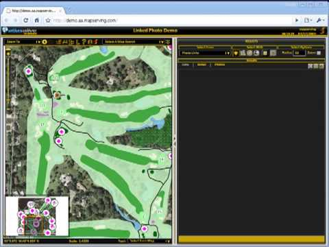 Photo Viewing in AtlasAlive on demand, MapServing's Premier Web-Based Mapping Solution