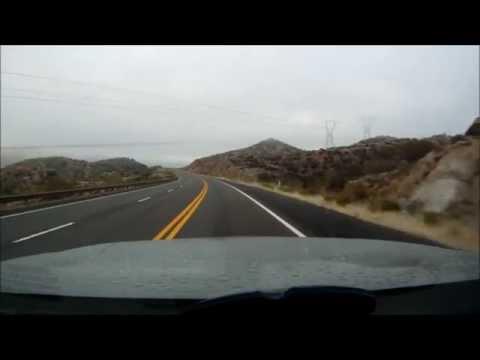 GoPro Hero Drive to Roosevelt Lake Arizona
