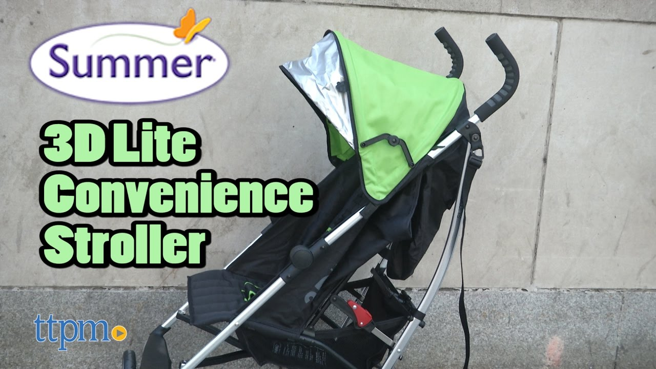 3dlite Convenience Stroller From Summer Infant Youtube