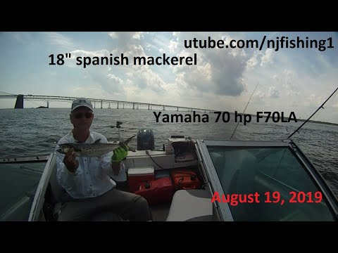 Yamaha 70 Hp 4 Stroke - Sandy Point State Park Fishing (2 Of 2)
