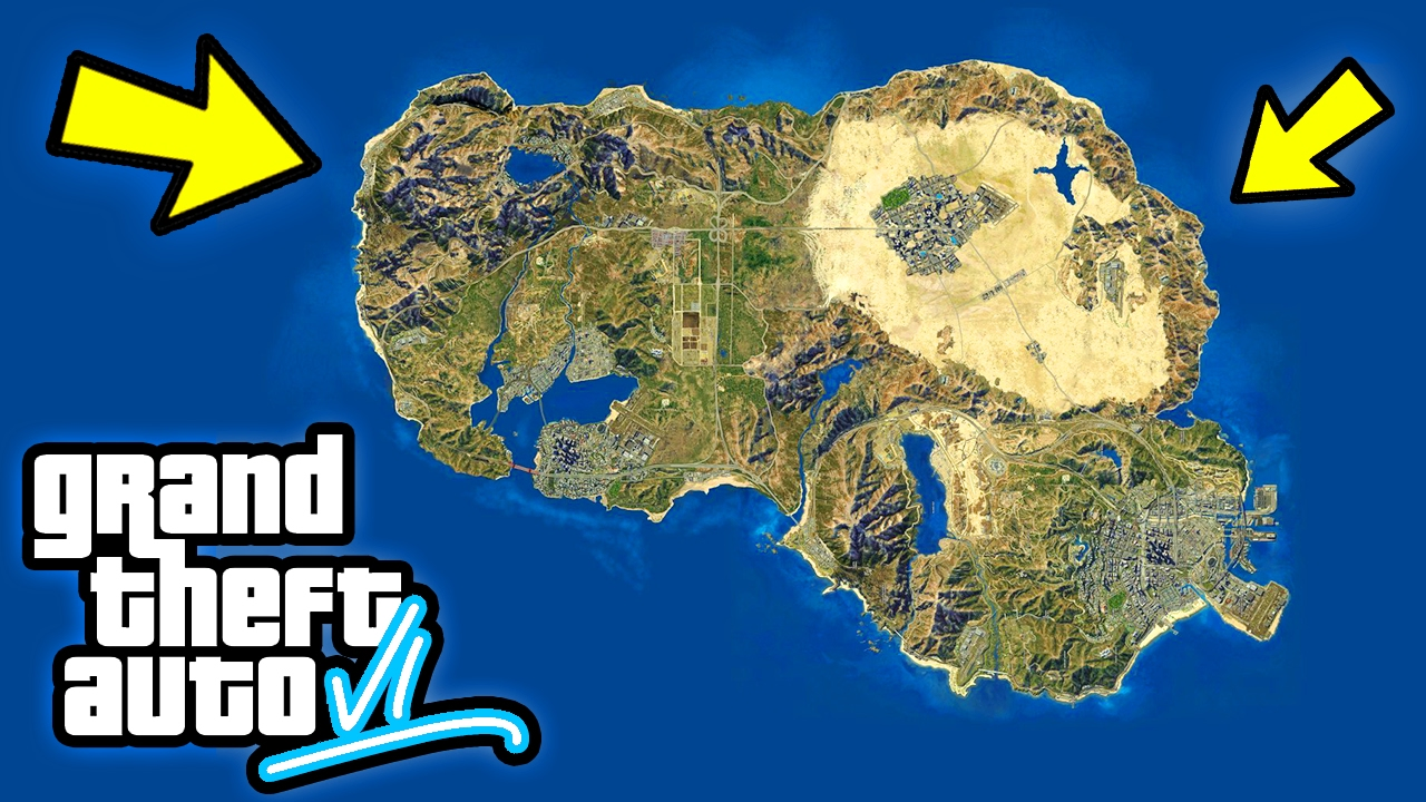 Gta 6 Map Of America.Gta 6 Huge Usa Map 10 Things We Want To See In Gta 6 Gta Vi