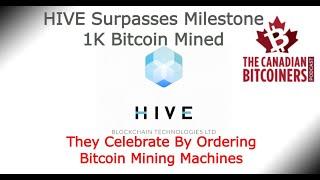 Hive Blockchain ($HIVE) orders more Bitcoin miners
