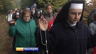 Polish Catholics Pray Rosary-ENN-2017-10-09