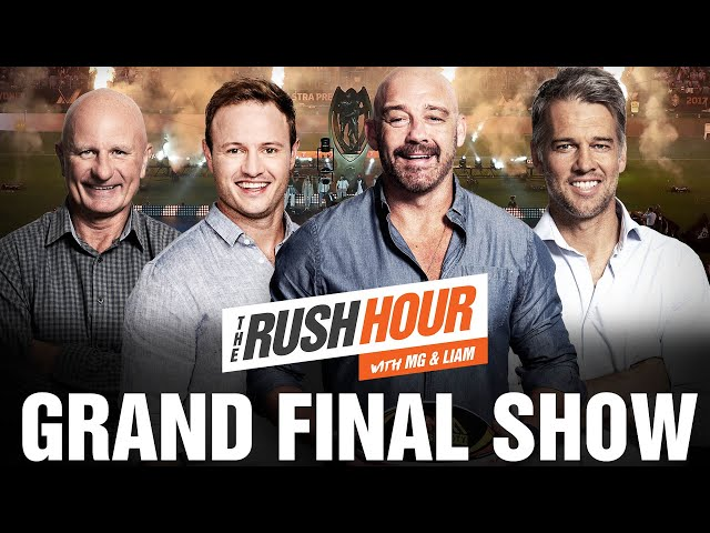 The Rush Hour With MG & Liam's NRL Grand Final Show   Triple M NRL