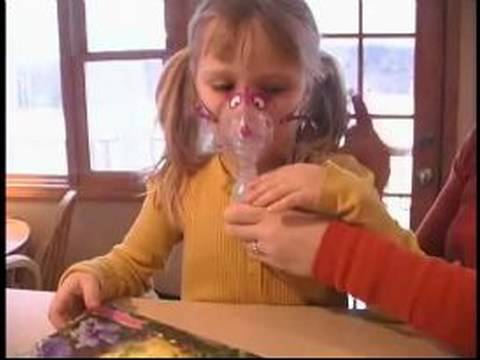 How to Use a Nebulizer : How to Use Nebulizer Mask With a Child