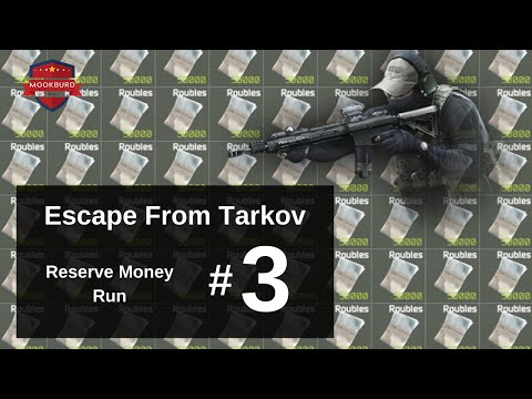 Escape From Tarkov Money Run on Reserve #3 | ~1 Million Roubles In 9 Minutes
