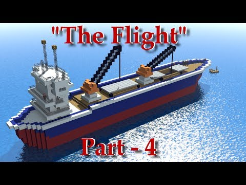 "Minecraft Animation ""The Flight Part 4"""