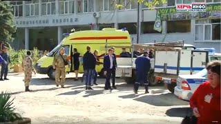Students killed in attack on vocational college in Crimea