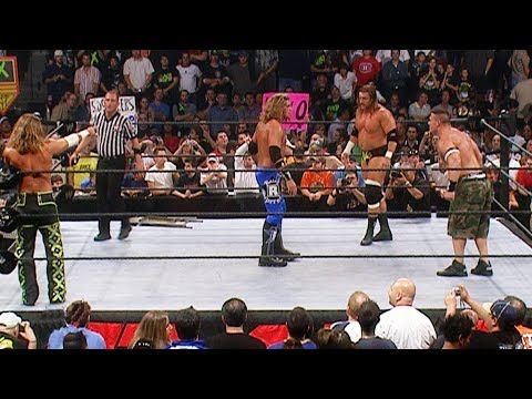 John Cena, Shawn Michaels & Triple H vs. Edge, Murdoch & Cade: Raw, Sept. 18, 2006