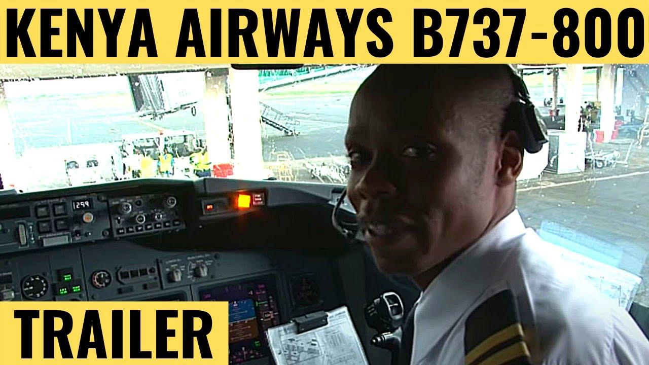Kenya Airways B737-800