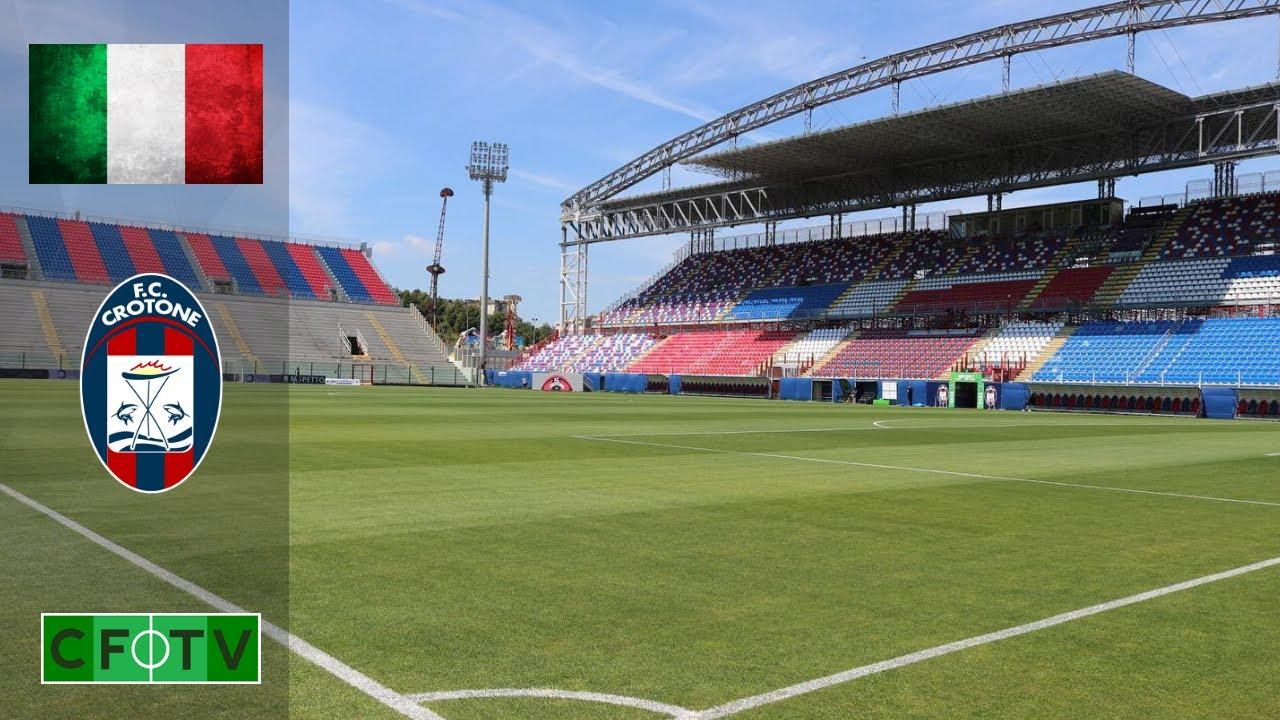 FC Crotone - Stadio Ezio Scida - YouTube