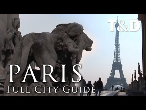 Paris Tourist City Guide Best Places - Travel & Discover