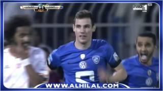 """""""بوناتيني"""" يسجل هدف الهلال الثاني أمام الشباب بـ #دوري_جميل"""
