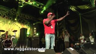Barrington Levy - 2/3 - Under Mi Sensi + Murderer - Reggae Jam 2013