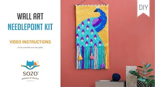How To - Wall Art Needlepoint Kit