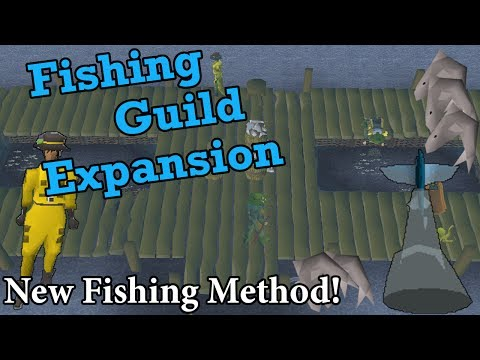 OSRS Fishing Guild Expansion | New Fishing Method (50k Xp/hr | 450k Gp/hr)