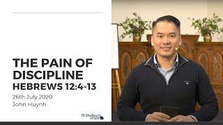 The Pain of Discipline (Hebrews 12:4-13) - 26 July 2020
