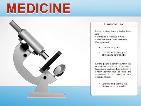 Medicine PowerPoint chart - Presentation