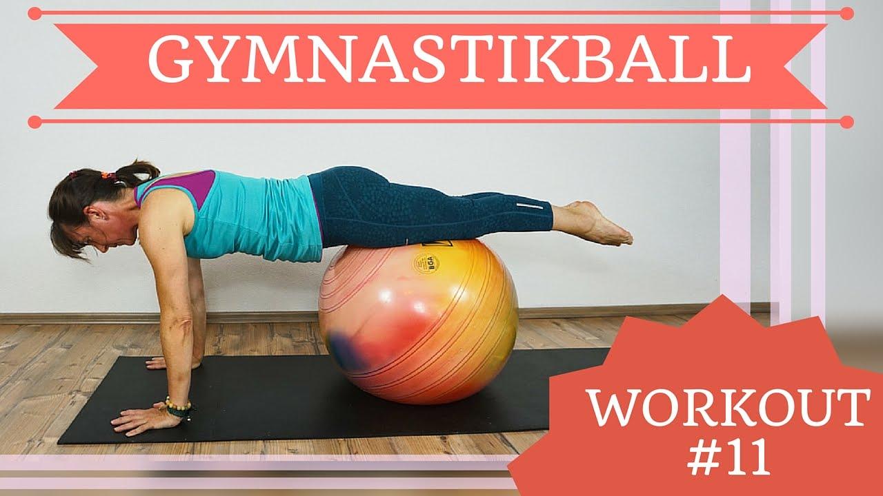 Workout #11 - mit Gymnastikball | Ramona Franke |
