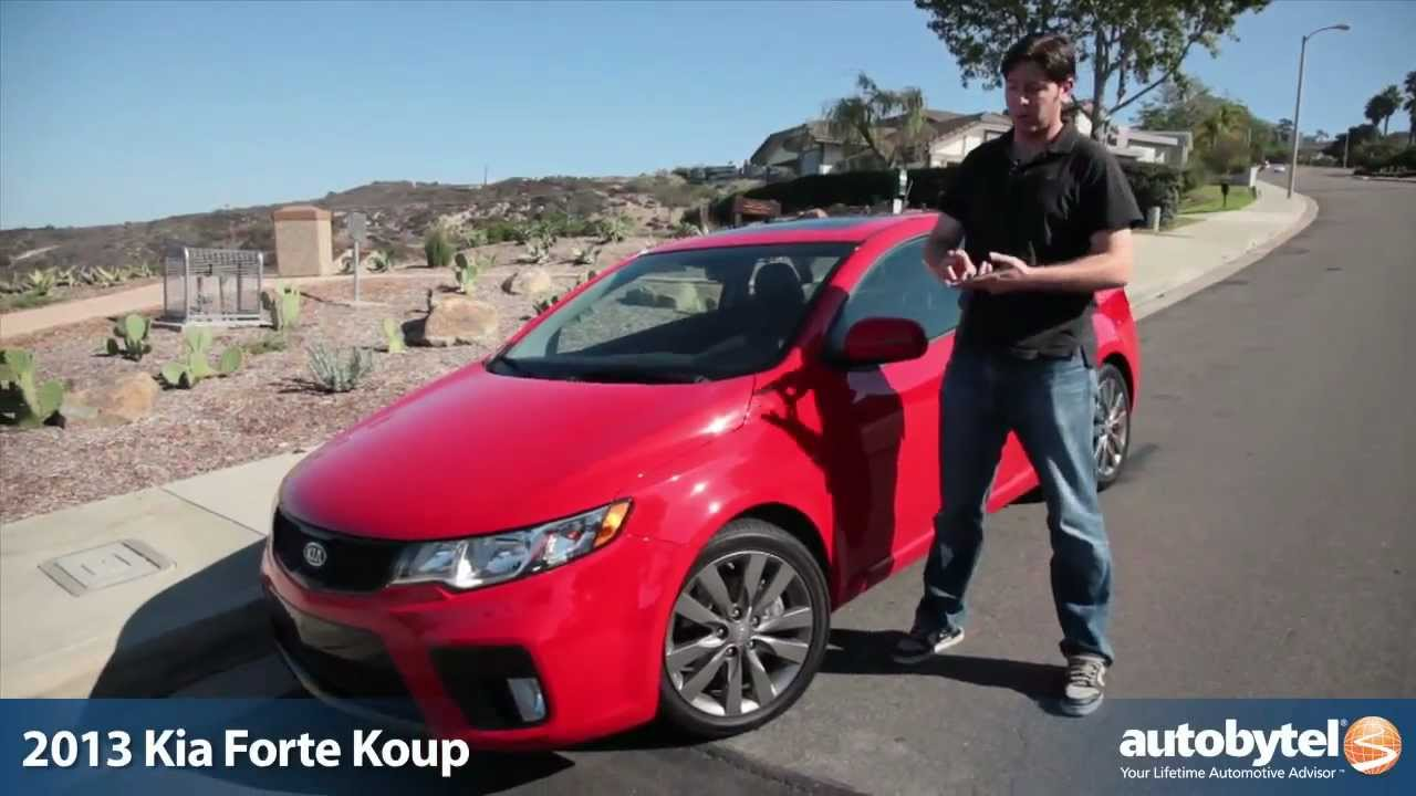 2013 kia forte koup sx test drive car video review youtube. Black Bedroom Furniture Sets. Home Design Ideas