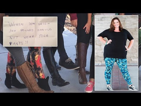 Curvy Mom Body-Shamed For Wearing Printed Leggings Thanks Haters